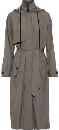 Halsey Belted Shell Trench Coat