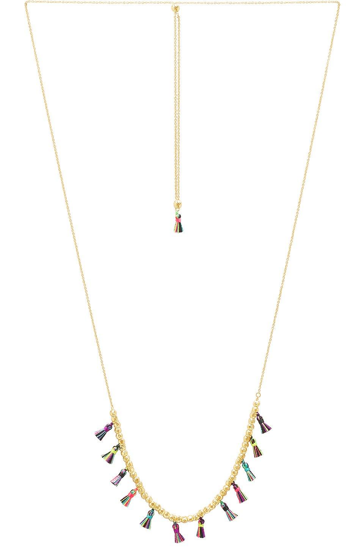 Havana Tassel Adjustable Necklace