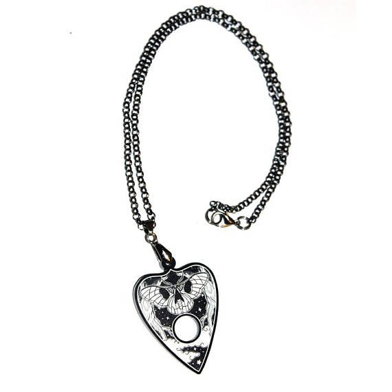 Planchette Chain Ouija Necklace