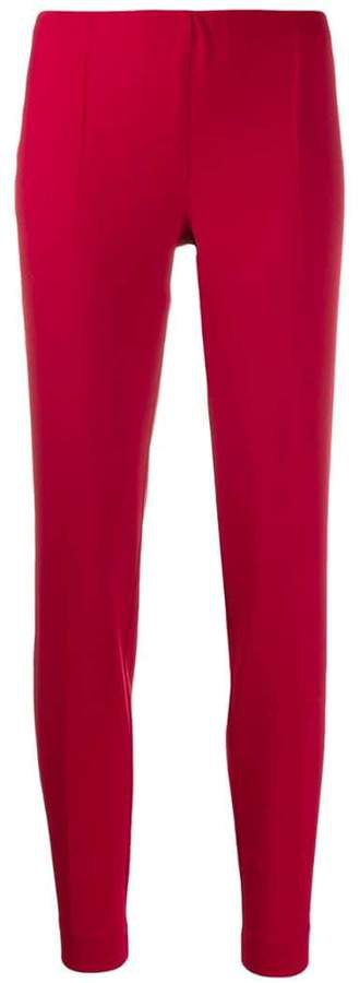 stretch fit trousers