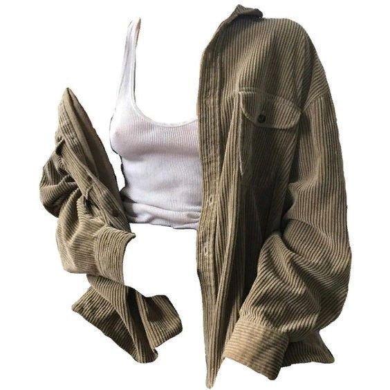 crop tank top and jacket