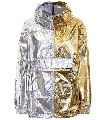 Sportswear metallic jacket