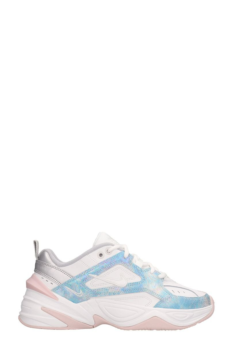 Nike White Leather M2k Tekno Sneakers