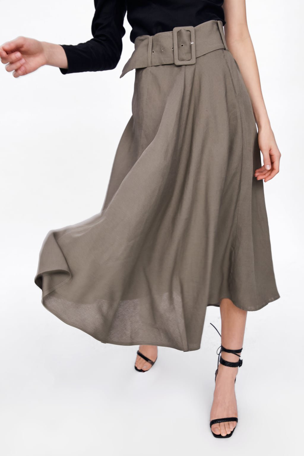 BELTED SKIRT - View All-SKIRTS-WOMAN | ZARA United States