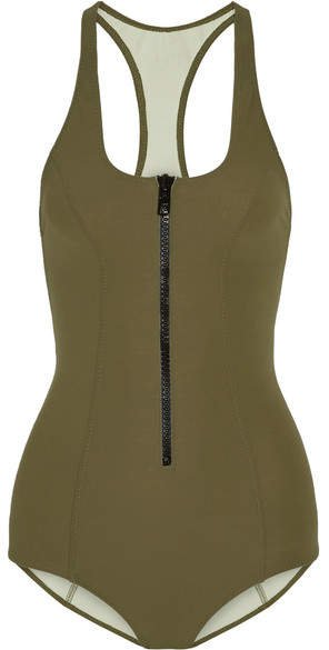 Elisa Bonded Swimsuit - Army green