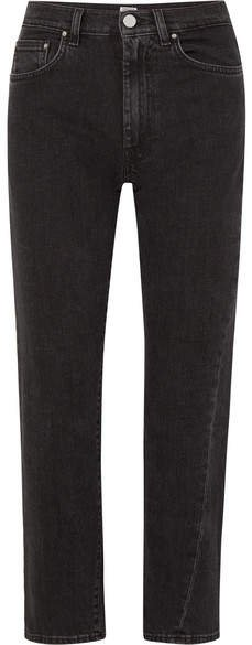 Original High-rise Straight-leg Jeans - Black