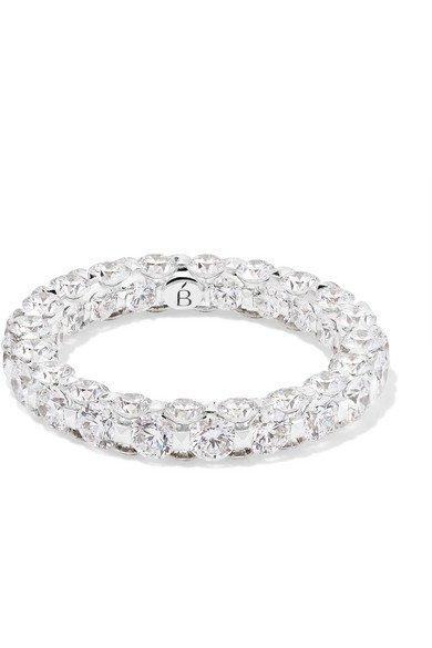 Boghossian | Merveilles 18-karat white gold diamond ring | NET-A-PORTER.COM