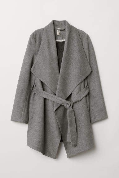 Short Coat - Gray