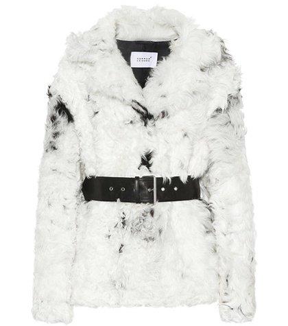 Baby shearling jacket