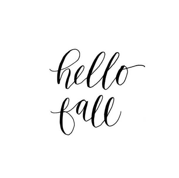 Hello Fall - картинка #3603794 от Maria_D на Favim.ru