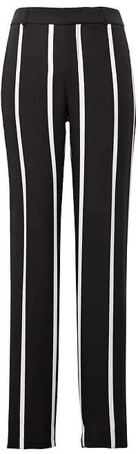 Avery Straight-Fit Stripe Ankle Pant