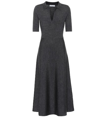 Bourgeois wool-blend dress