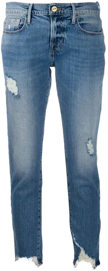 Le Garcon cropped skinny jeans