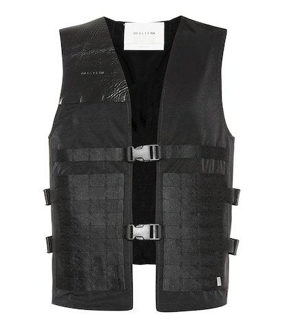 Trooper cotton-blend vest