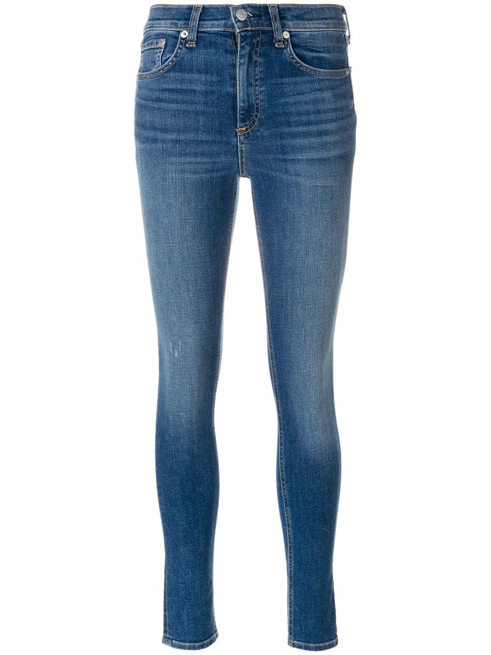 Rag & Bone /Jean High Rise Skinny Jeans - Farfetch