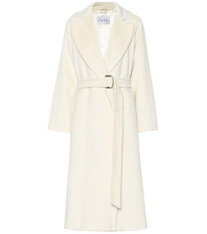 Levico alpaca and wool coat