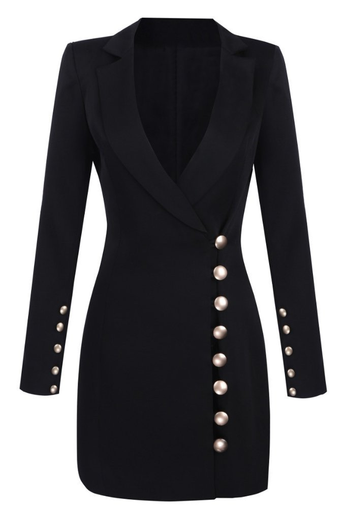 black blazer dress - Google Search