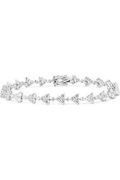 Anita Ko   Eternity 18-karat white gold diamond bracelet   NET-A-PORTER.COM