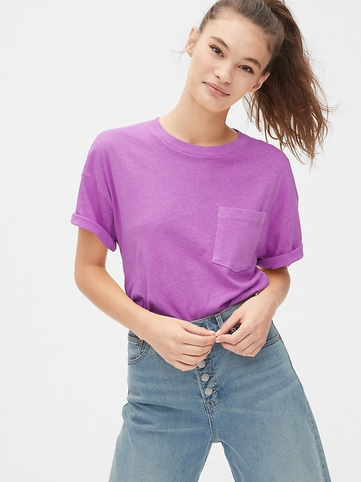 Gap 50th Anniversary Authentic Pocket T-Shirt | Gap