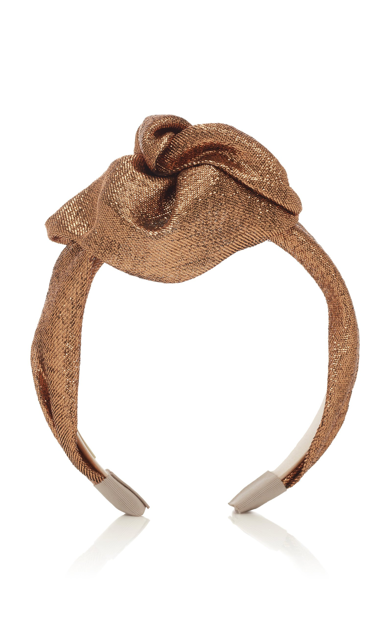 Jennifer Behr Rosamund Metallic Headband