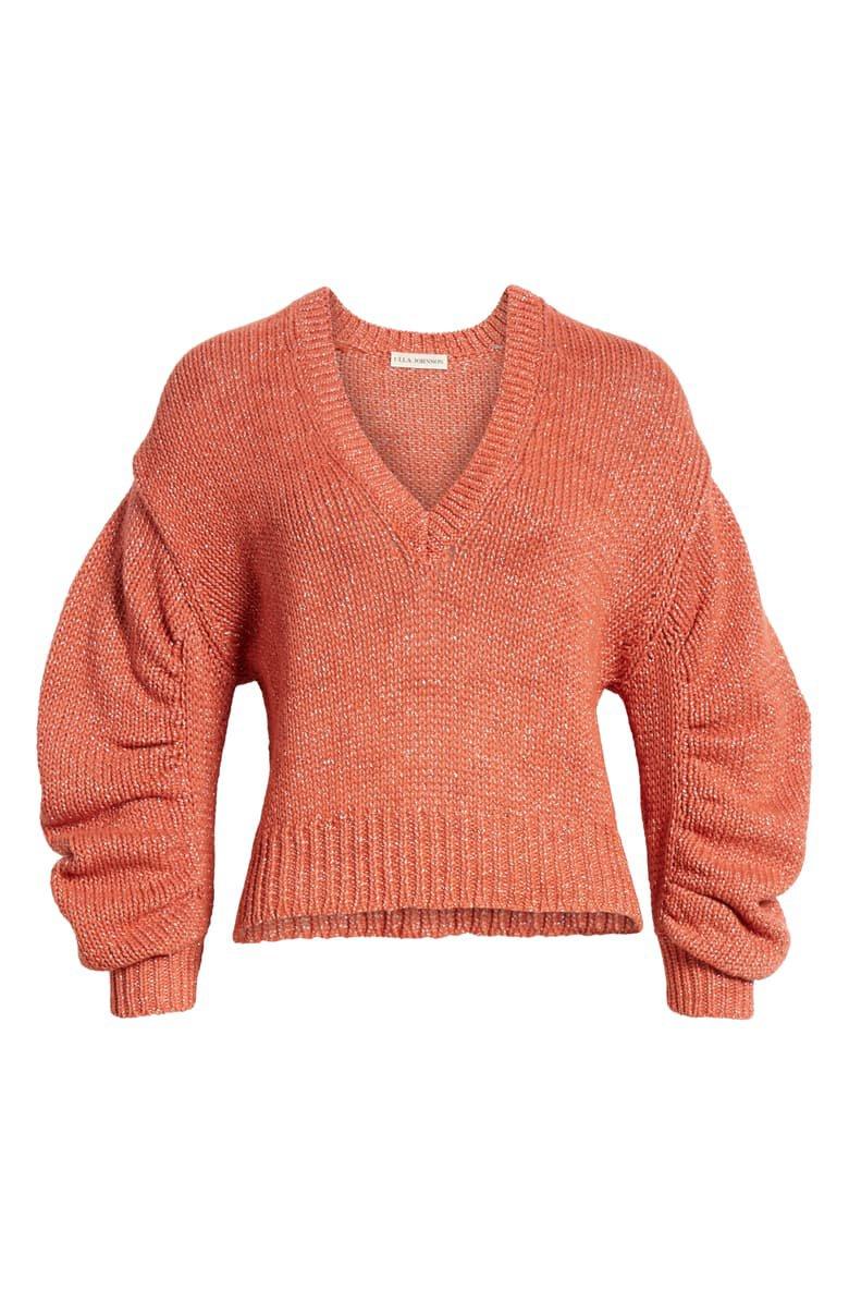Ulla Johnson Tunis Metallic Sweater | Nordstrom