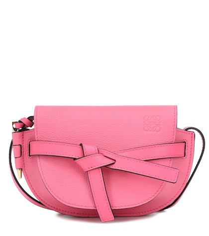 Gate Mini leather crossbody bag