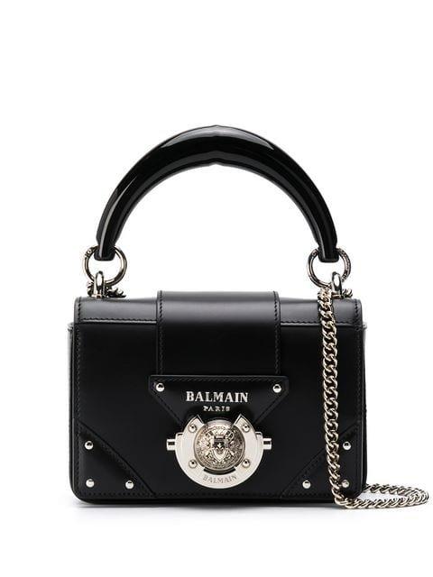 Balmain Mini Box Crossbody Bag - Farfetch