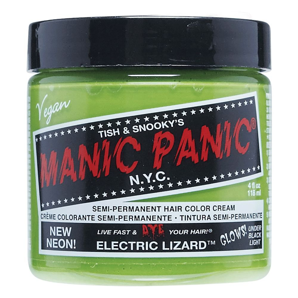 Electric Lizard - Manic Panic Semi-Permanent Hair Color | Sally Beauty