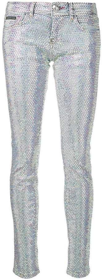 Crystal slim fit jeans