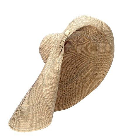 Giga Spinner raffia hat
