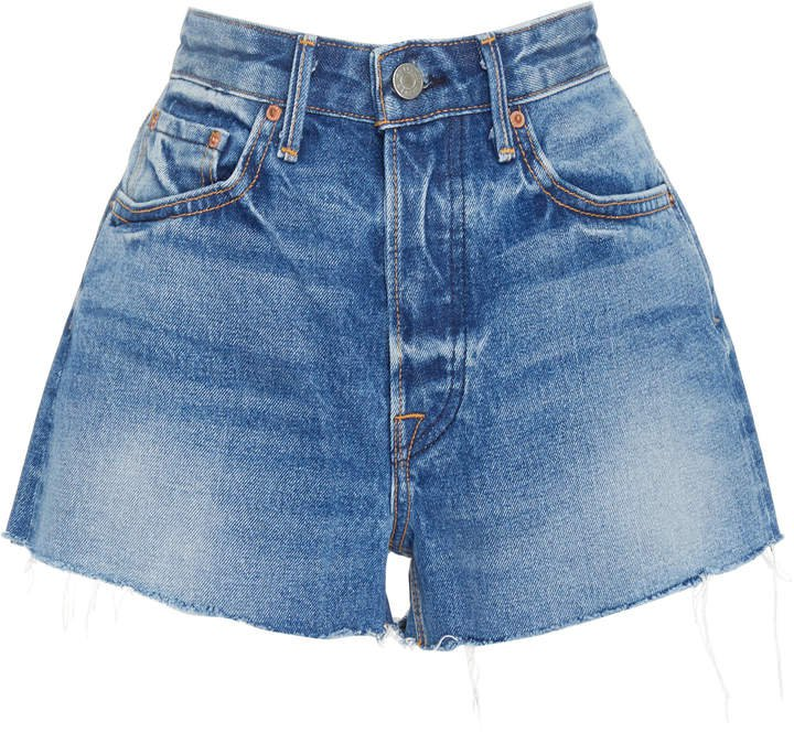 Denim Cindy Distressed Denim Shorts