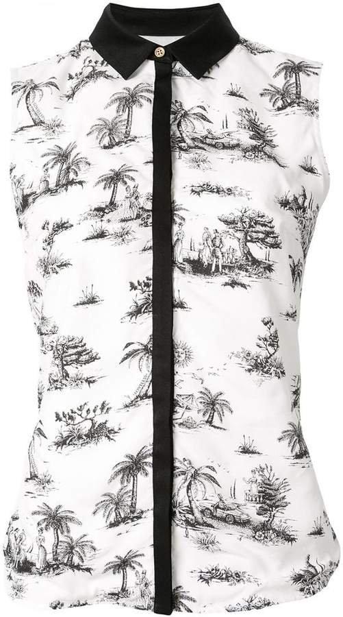 Loveless sleeveless shirt