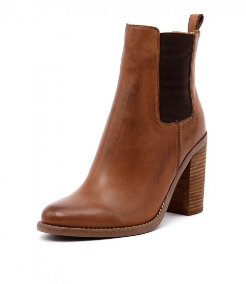 Tony Bianco Brown Ankle Boots