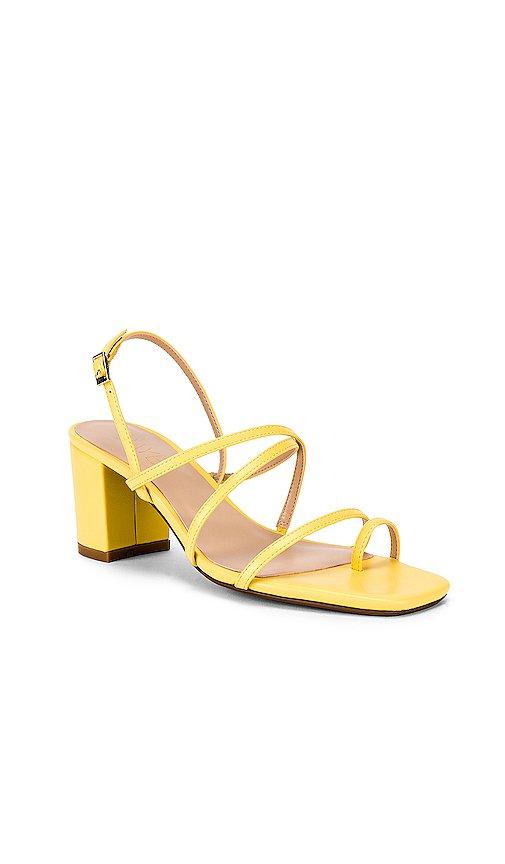 RAYE Portland Heel in Pale Yellow | REVOLVE