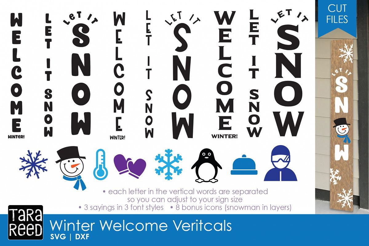 winter vertical words - Google Search