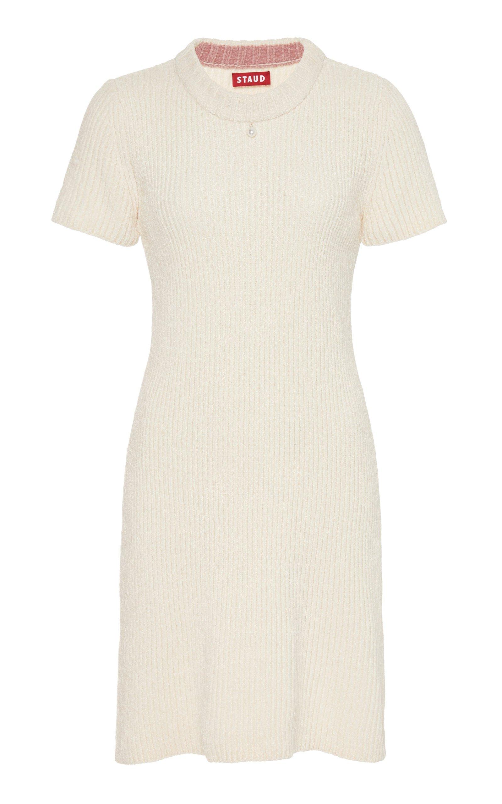 Staud Dylan Chenille Mini Dress