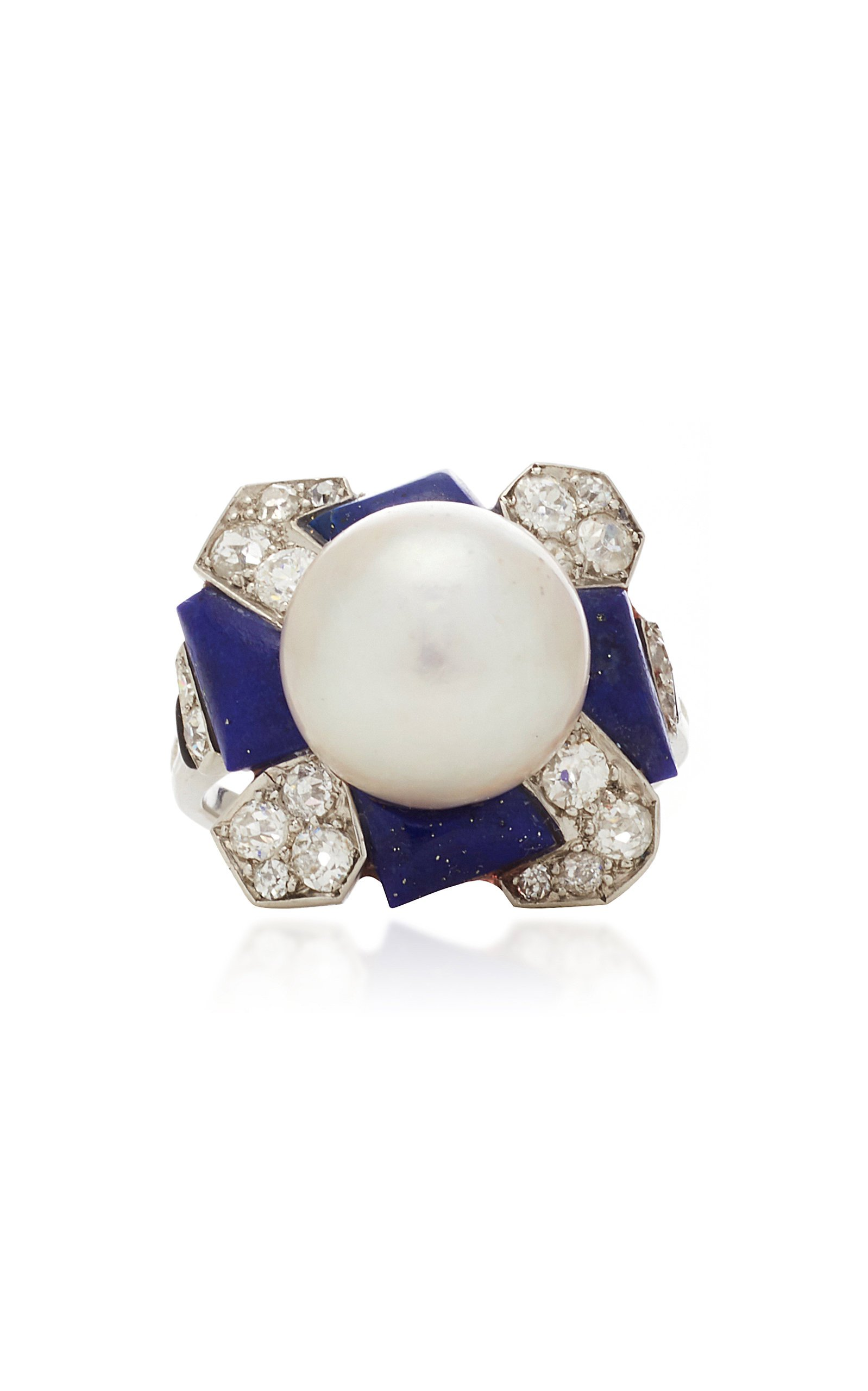 Simon Teakle Art Deco Ring