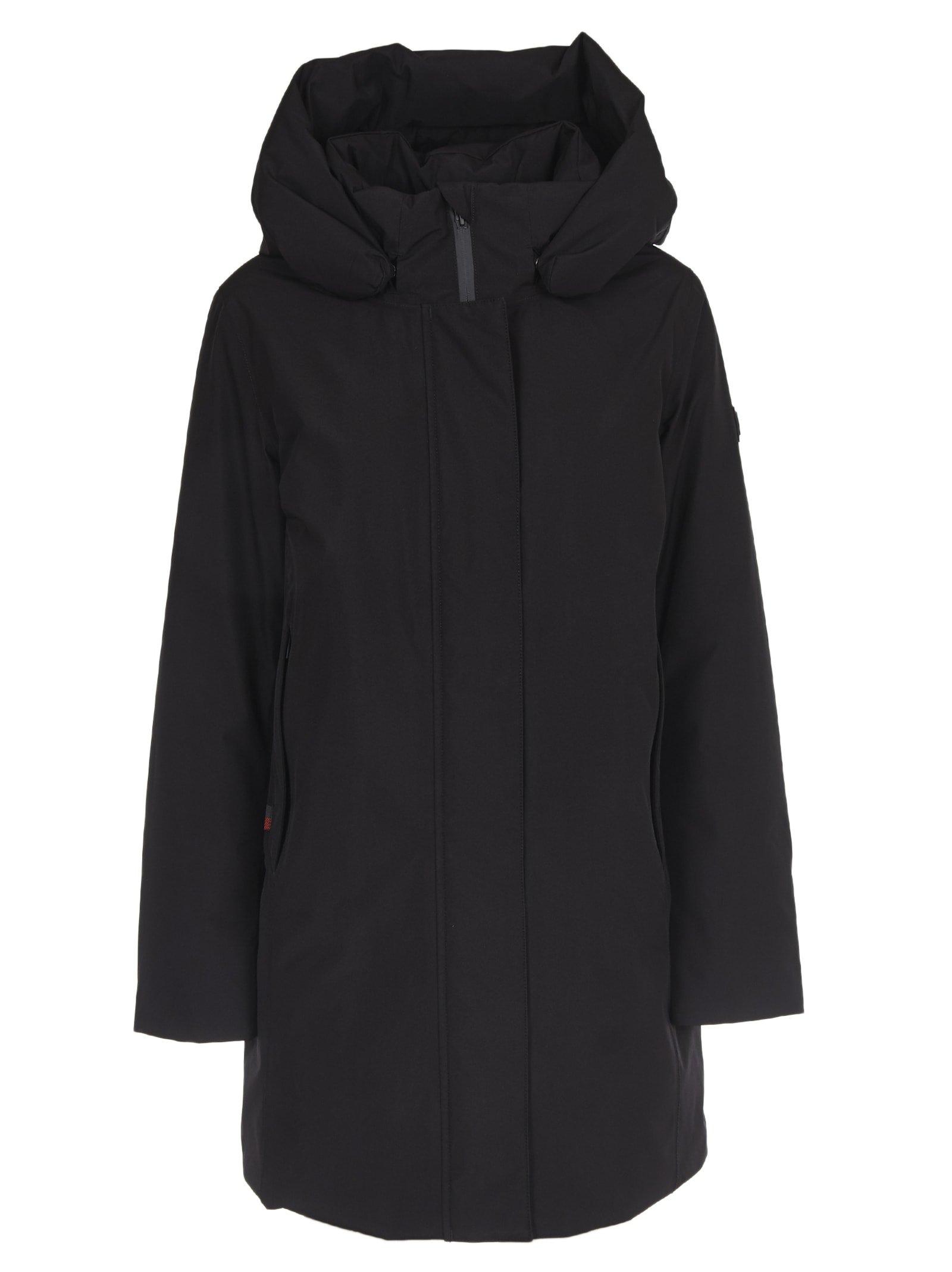 Woolrich Black Marshall Coat