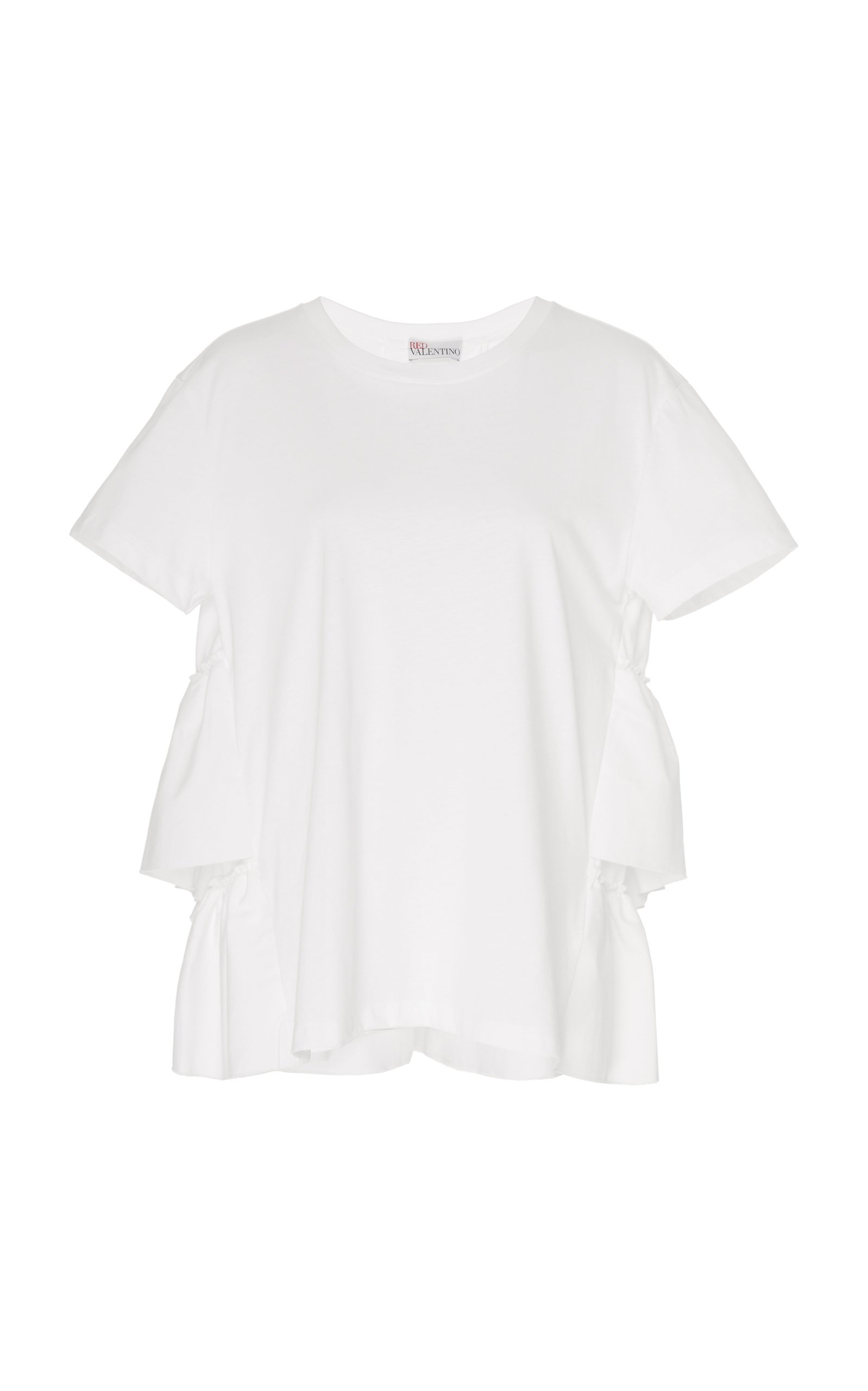 Red Valentino Oversized Cotton T-Shirt Size: XS