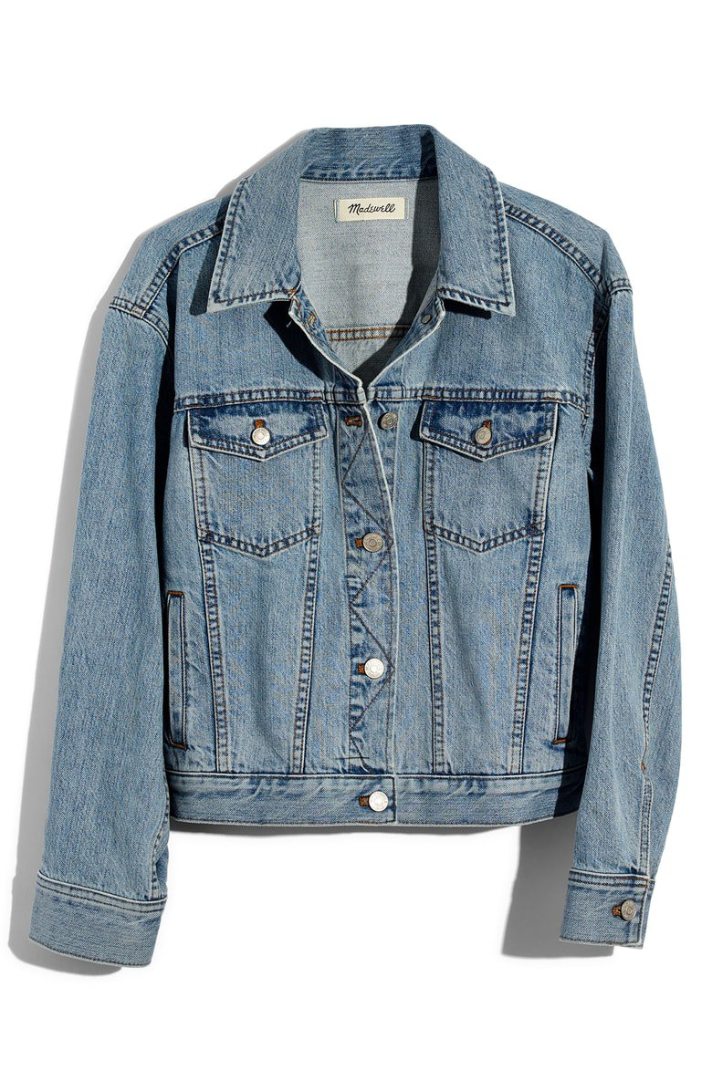 Madewell The Boxy Crop Jean Jacket | Nordstrom