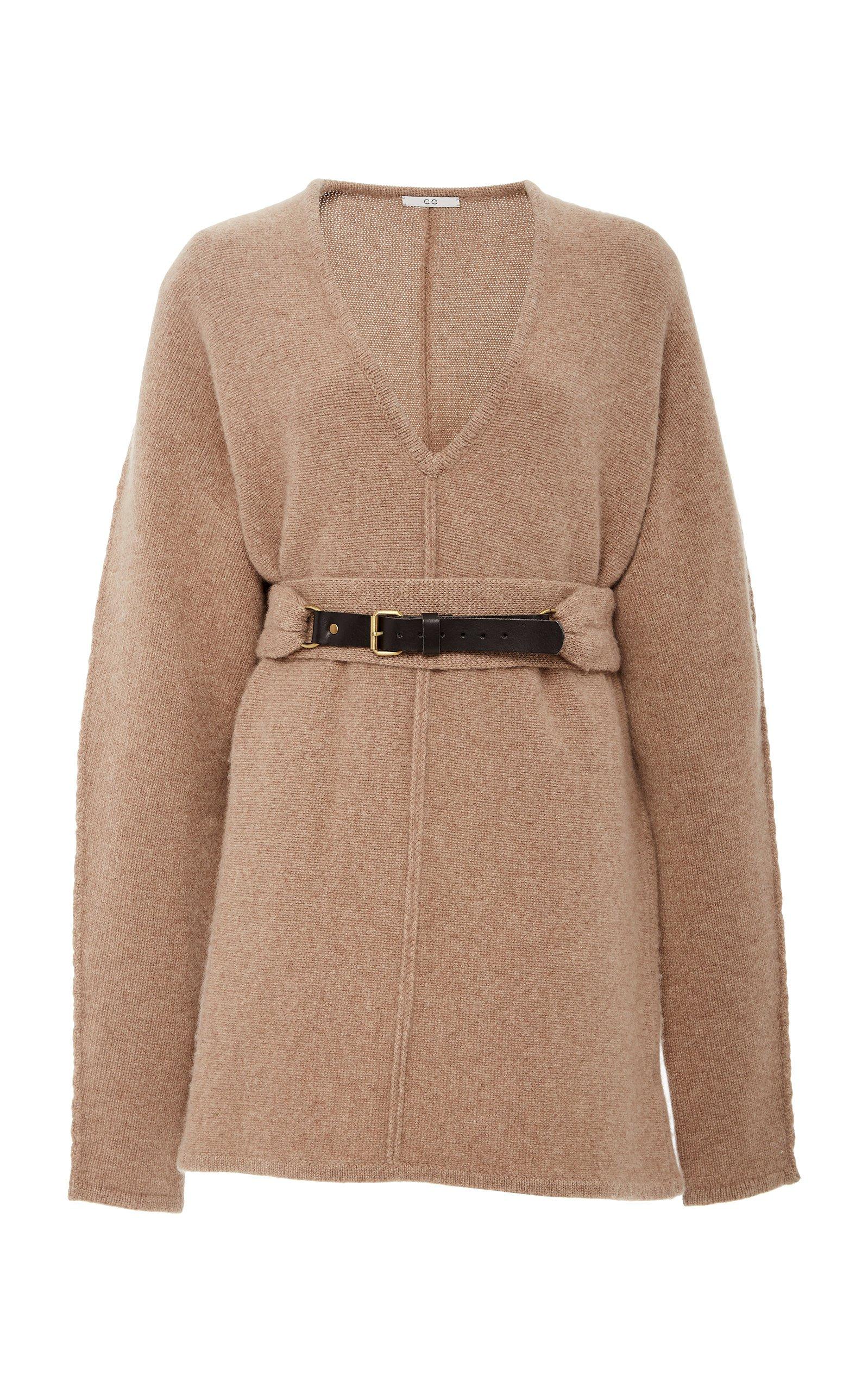 Belted Cashmere Sweater by Co | Moda Operandi