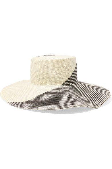 Eugenia Kim   Annabelle two-tone straw hat   NET-A-PORTER.COM