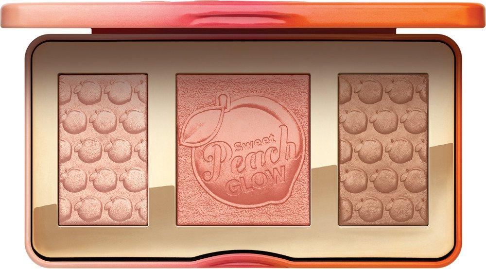 too faced peach highlighting palette