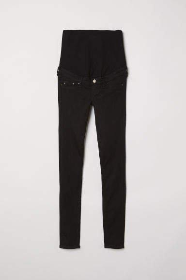 MAMA Shaping Skinny Jeans - Black