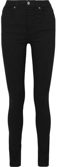 Kate High-rise Skinny Jeans - Black