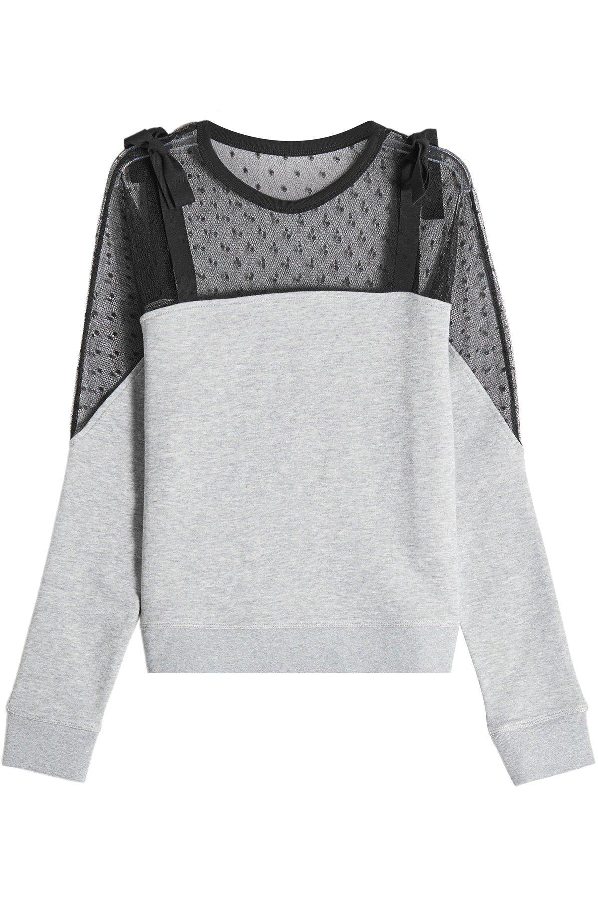 Tulle Sweatshirt Gr. XS