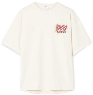 The Ex-boyfriend Printed Cotton-jersey T-shirt - White