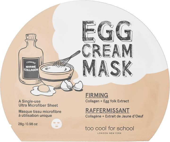 Too Cool For School - Egg Cream Mask Firming