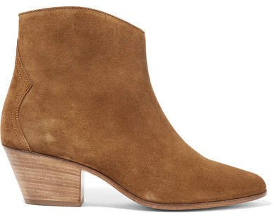 Dacken Suede Ankle Boots - Light brown