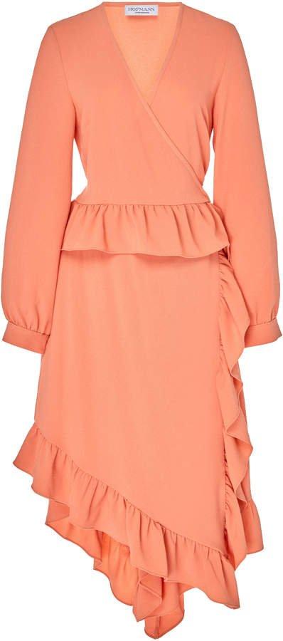 HOFMANN COPENHAGEN Edie Waterfall Midi Dress